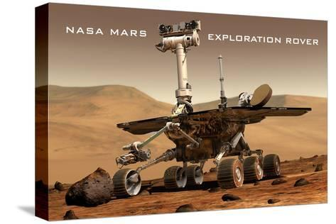 NASA Mars Exploration Rover Sprit Opportunity Photo--Stretched Canvas Print