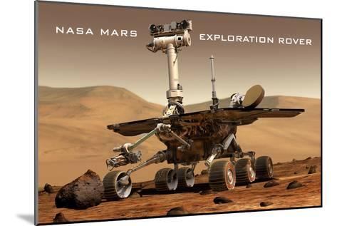 NASA Mars Exploration Rover Sprit Opportunity Photo--Mounted Art Print