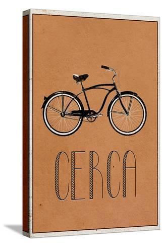 CERCA (Italian -  Explore)--Stretched Canvas Print