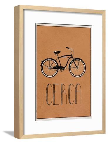 CERCA (Italian -  Explore)--Framed Art Print
