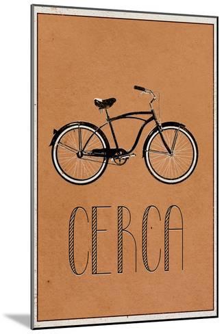 CERCA (Italian -  Explore)--Mounted Art Print