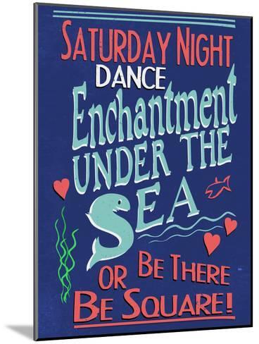 Enchantment Under The Sea Dance--Mounted Art Print
