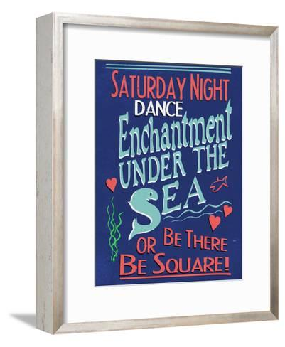 Enchantment Under The Sea Dance--Framed Art Print