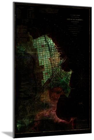 San Francisco Map 3--Mounted Art Print
