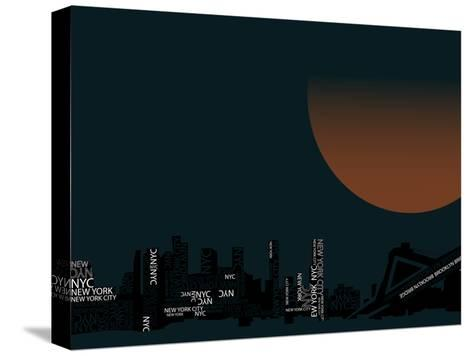 Nyc 2--Stretched Canvas Print