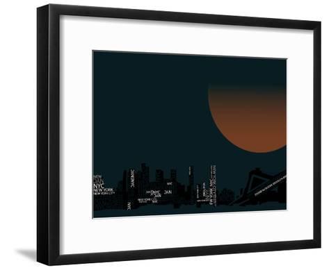 Nyc 2--Framed Art Print