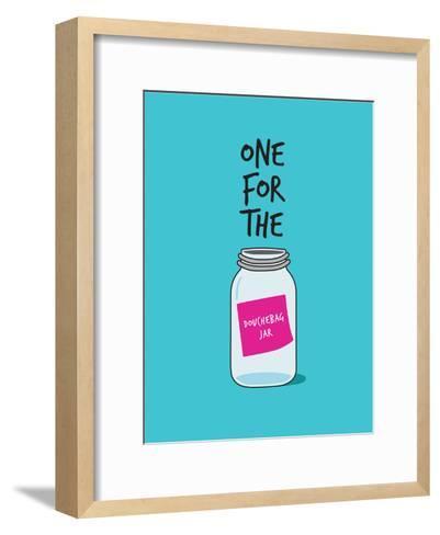 Douchebag Jar--Framed Art Print