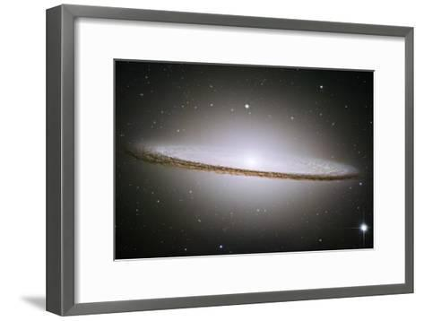 The Majestic Sombrero Galaxy M104 Space Photo--Framed Art Print