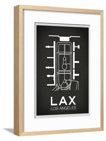 LAX Los Angeles Airport--Framed Art Print