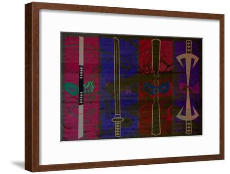 Turtle Weapons--Framed Art Print