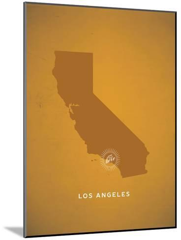 You Are Here Los Angeles--Mounted Art Print
