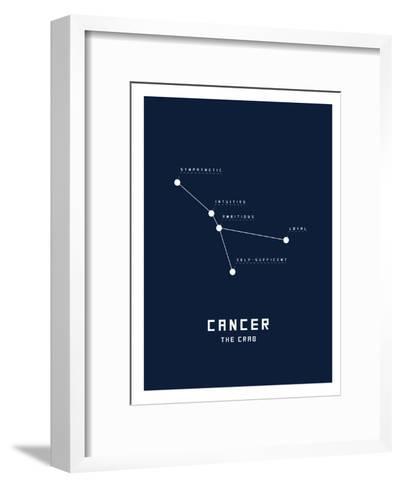 Astrology Chart Cancer--Framed Art Print