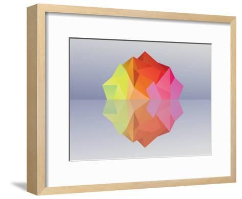 Kaleidoscope Iceberg--Framed Art Print