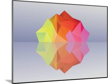 Kaleidoscope Iceberg--Mounted Art Print
