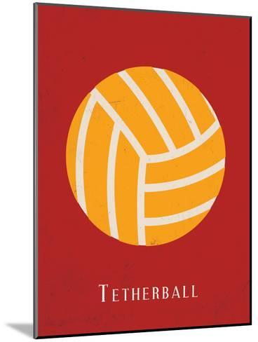 Tetherball--Mounted Art Print