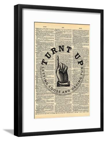 Turnt Up--Framed Art Print
