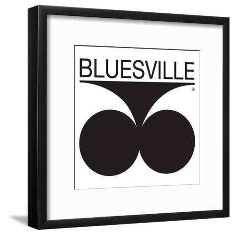 Bluesville Records Logo Art Print by | Art.com