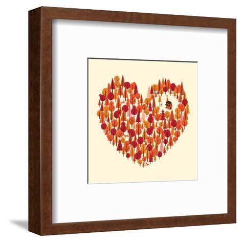 Wild at Heart-Chris Wharton-Framed Art Print