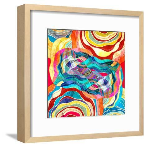 Abstract Colorful Background-tanor27-Framed Art Print