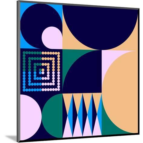 Geo #4-Greg Mably-Mounted Art Print