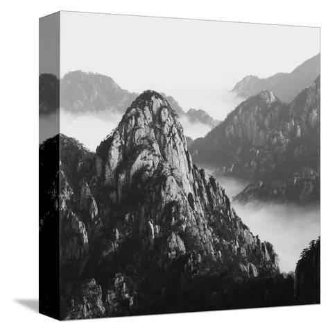 Mount Huangshan 10-Mel Hwang-Stretched Canvas Print