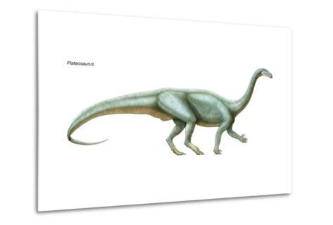 Dinosaur-Encyclopaedia Britannica-Metal Print