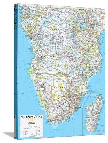 2014 Southern Africa - National Geographic Atlas of the World, 10th Edition--Stretched Canvas Print