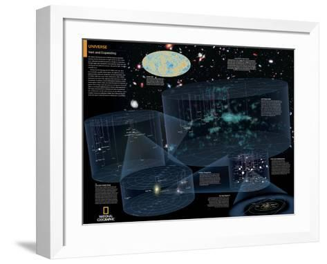 2014 Universe - National Geographic Atlas of the World, 10th Edition--Framed Art Print