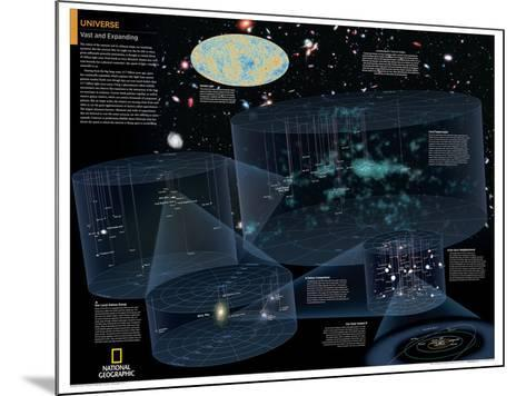 2014 Universe - National Geographic Atlas of the World, 10th Edition--Mounted Art Print
