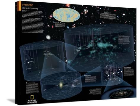 2014 Universe - National Geographic Atlas of the World, 10th Edition--Stretched Canvas Print
