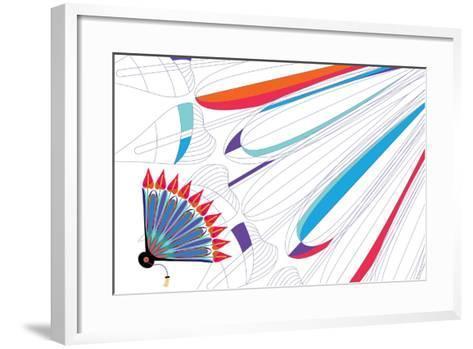 Nature Fan, Anturio-Bel?n Mena-Framed Art Print