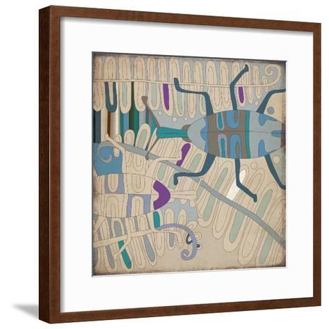 Selvática, Insecto-Bel?n Mena-Framed Art Print