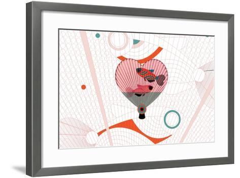 Nature Fan, Fish-Bel?n Mena-Framed Art Print