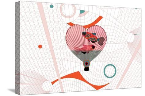Nature Fan, Fish-Bel?n Mena-Stretched Canvas Print