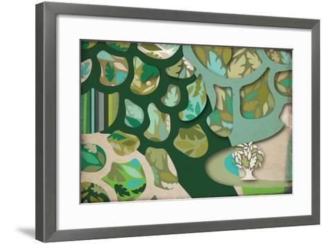 Selvática, Árbol Color-Bel?n Mena-Framed Art Print