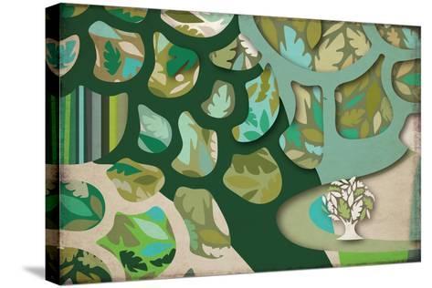 Selvática, Árbol Color-Bel?n Mena-Stretched Canvas Print