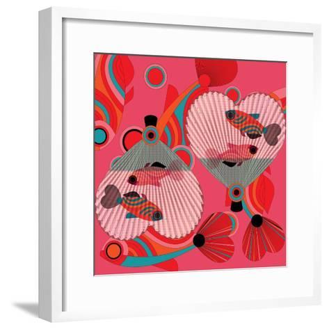 Nature Fan, Fish Color-Bel?n Mena-Framed Art Print