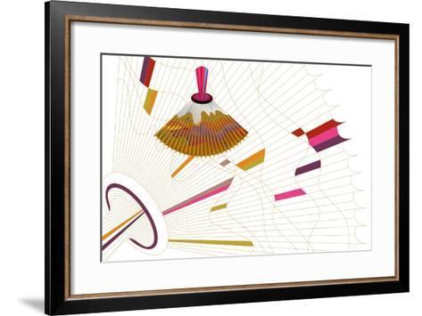 Nature Fan, Volcano-Bel?n Mena-Framed Art Print