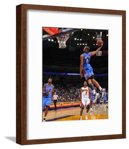 Oklahoma Thunders v Golden State Warriors-Rocky Widner-Framed Art Print