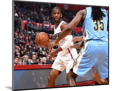 Denver Nuggets v Los Angeles Clippers-Andrew D Bernstein-Mounted Photo