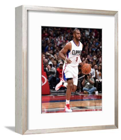 Denver Nuggets v Los Angeles Clippers-Andrew D Bernstein-Framed Art Print