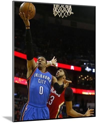 Oklahoma City Thunder v New Orleans Pelicans-Jonathan Bachman-Mounted Photo