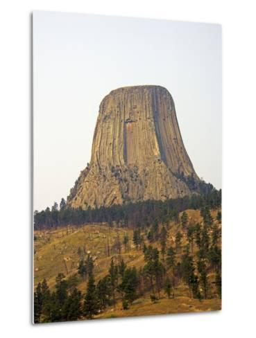 Devils Tower National Monument in Wyoming, Usa-Donna O'Meara-Metal Print