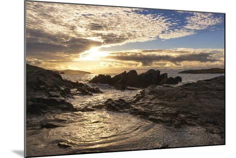 Sunset at Allihies Beara, Ireland-Chris Hill-Mounted Photographic Print