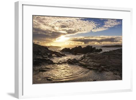 Sunset at Allihies Beara, Ireland-Chris Hill-Framed Art Print