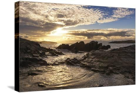 Sunset at Allihies Beara, Ireland-Chris Hill-Stretched Canvas Print
