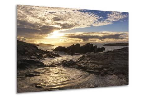 Sunset at Allihies Beara, Ireland-Chris Hill-Metal Print