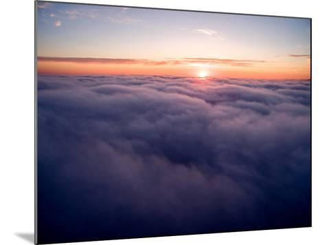Clouds Above Big Sur at Sunset-Ben Horton-Mounted Photographic Print