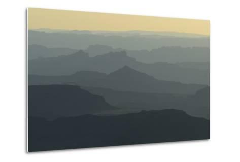 Colorado River Canyon at Sunrise from Buck View-Raul Touzon-Metal Print