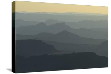 Colorado River Canyon at Sunrise from Buck View-Raul Touzon-Stretched Canvas Print